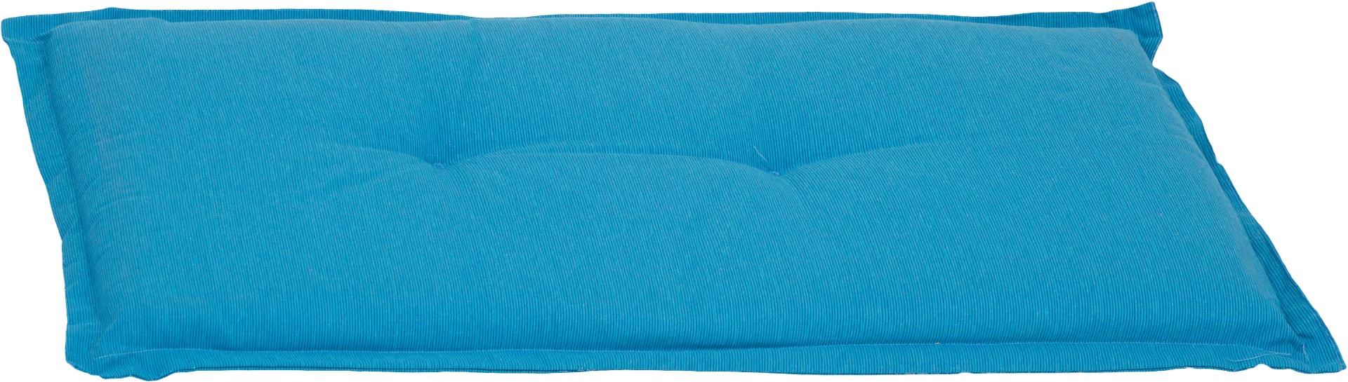 Bankauflage 2-Sitzer Sitzkissen ca. 100x45x6 cm hellblau meliert