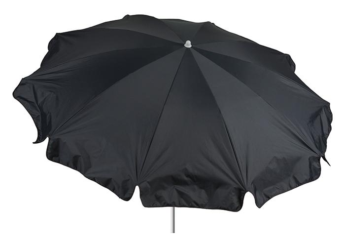 Maße 200 cm Bespannung 100% Polyester wasserabweisend Sonnenschirm in anthrazit 2