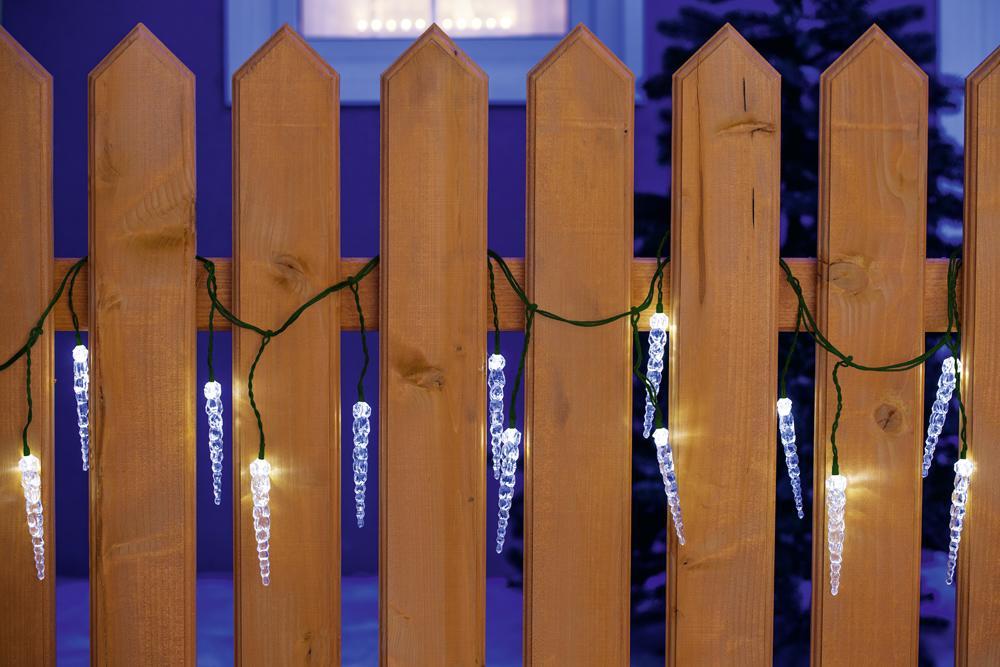 40er LED Eiszapfenkette Kettenlänge ca. 3