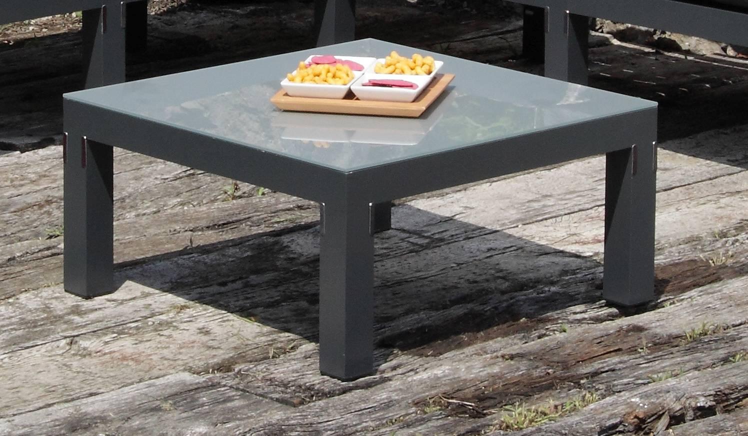 Glasplatte acamp weekend  für Basiselement 70x70cm