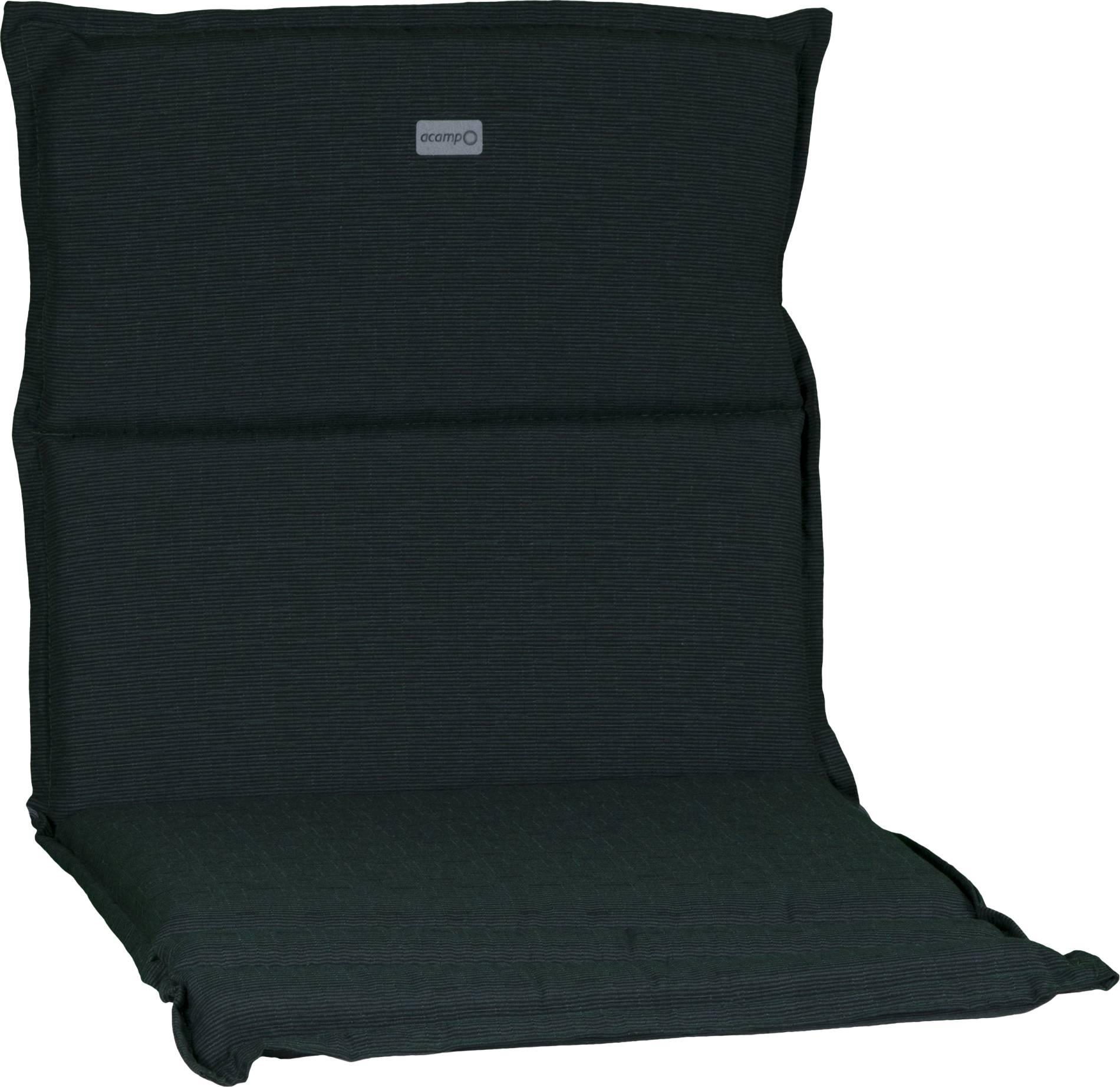 acamp Sesselkissen dunkelgrün meliert Typ-B 92 x 47 x 4 cm passend für niedrige acatop und albergo Gartenstühle