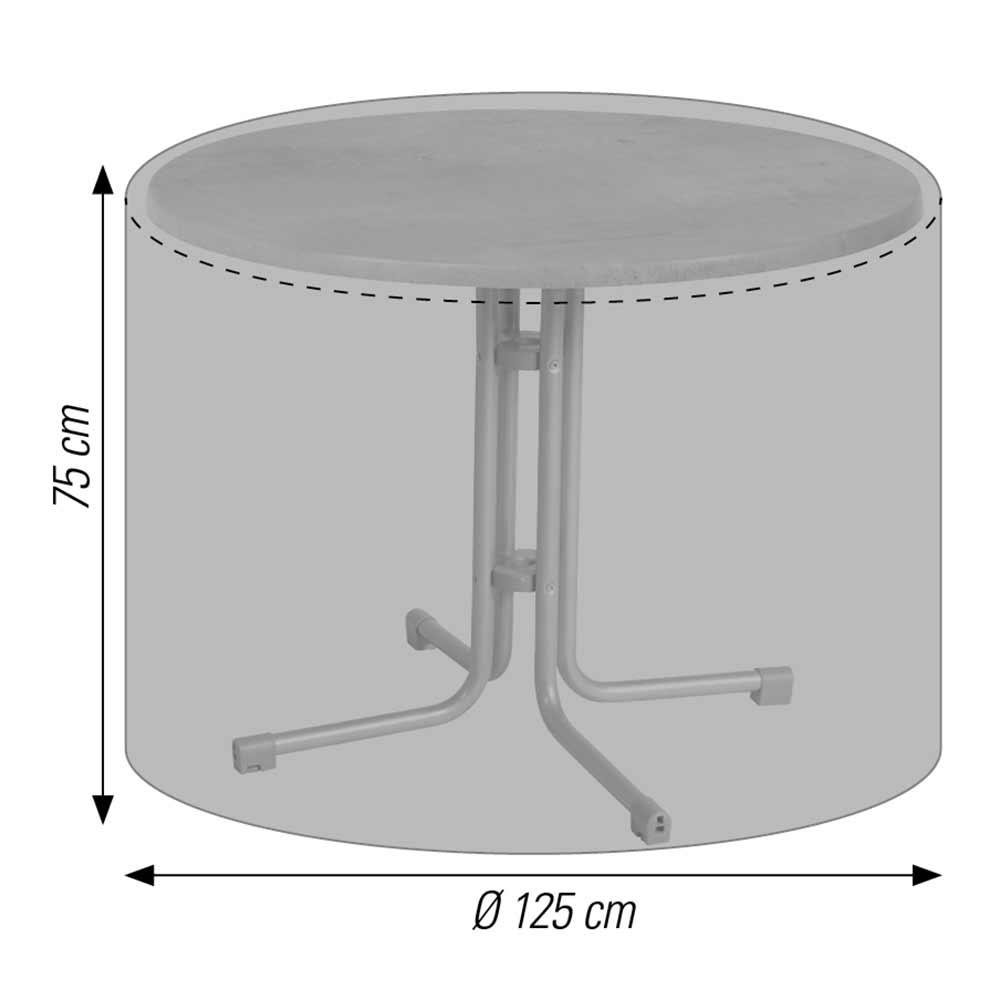 LLK 57706 Schutzhülle für Tisch rund
