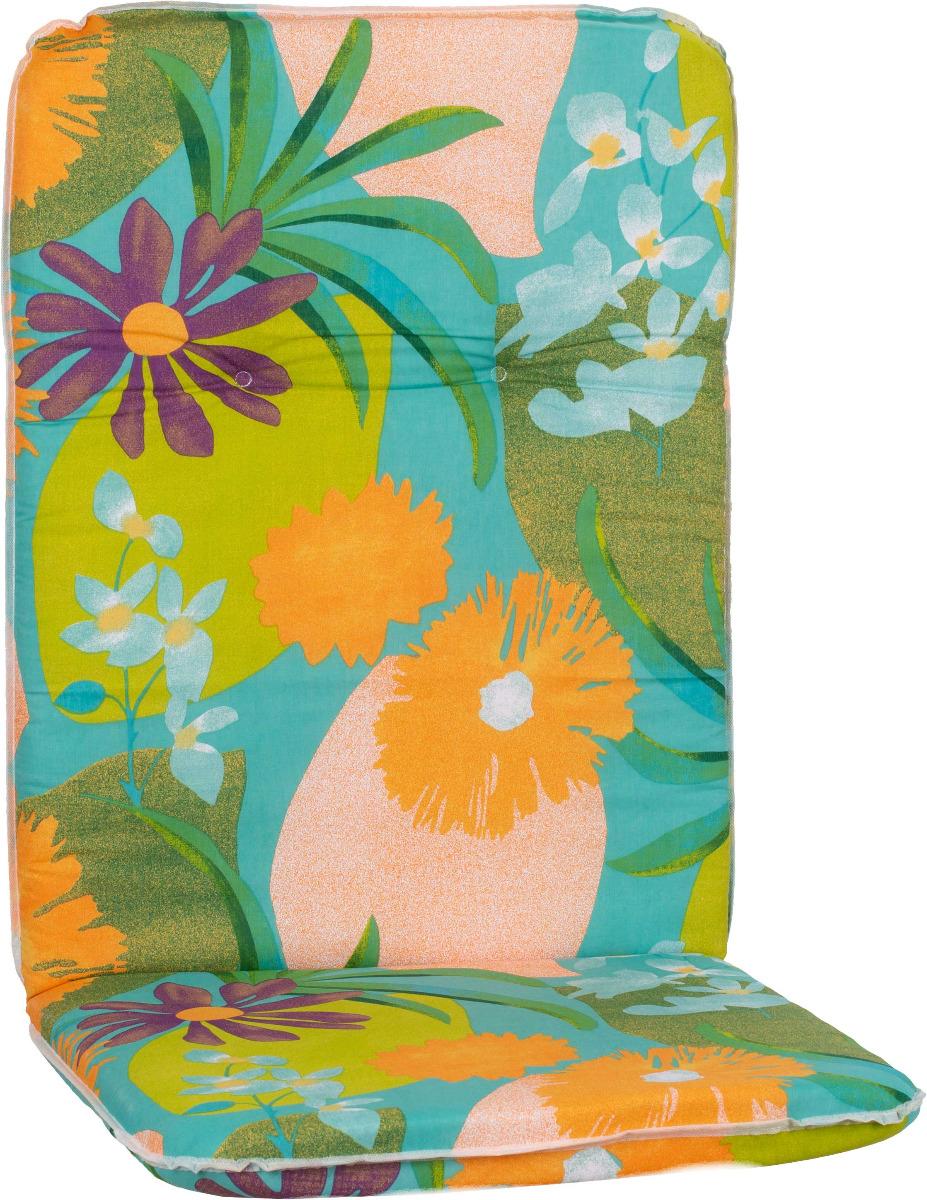 beo Gartenmöbel Auflage Blumen grau beige für Hochlehner Easton M701