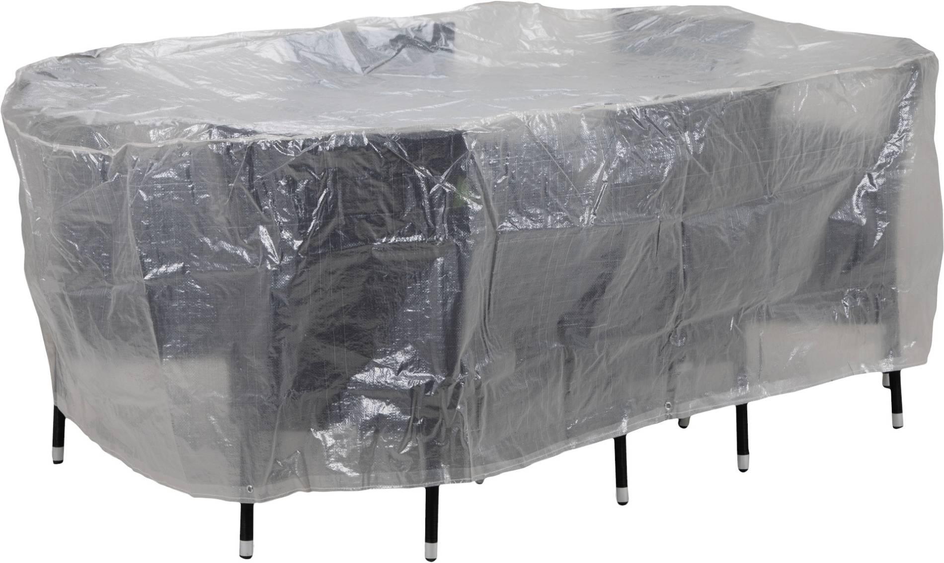 Schutzhülle für Garten Sitzgruppen bis 230 cm oval von beo
