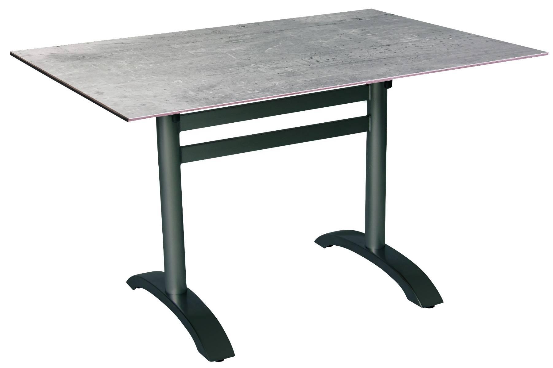acamp acaplan Gartentisch 120x80cm anthrazit cemento grigio