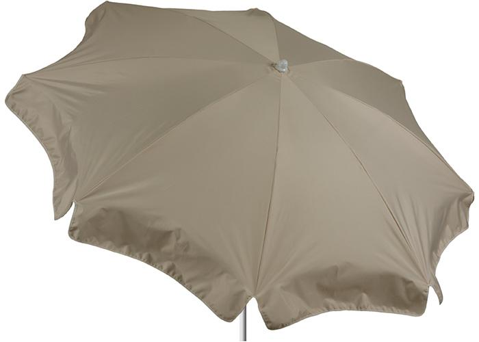 Durchmesser 180 cm Sonnenschirm in beige Bespannung 100% Polyester wasserabweisend 1