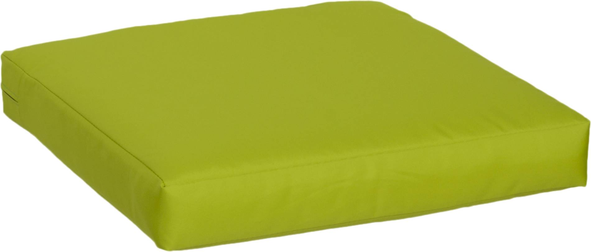 Kissen für Rattan Gartengruppen ca. 50 x 50 cm in hellgrün 100% Polyester wasserabweisend