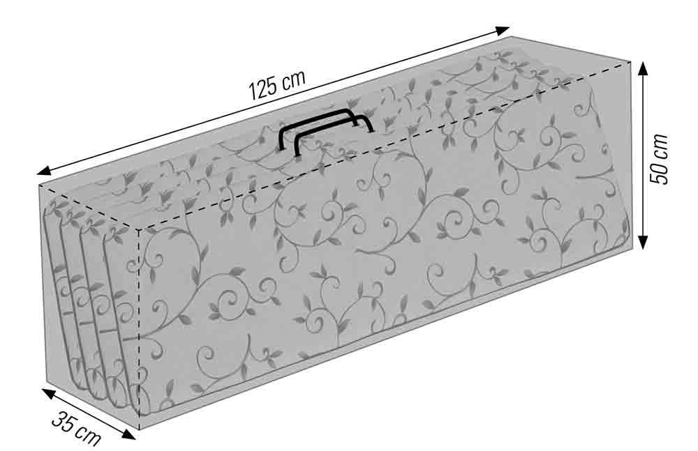 Tragetasche als Schutzhülle für Auflagen acamp cappa Typ 57727