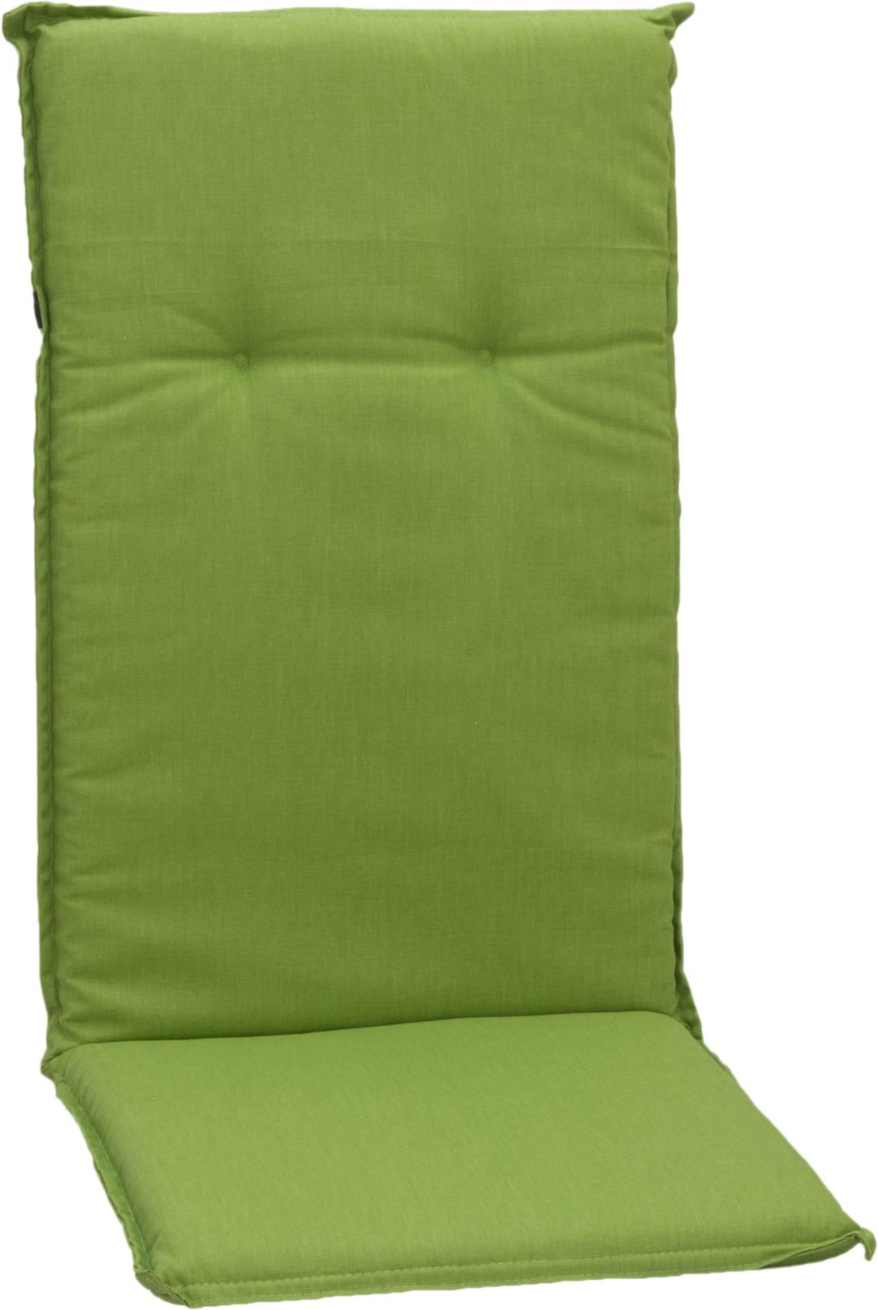 Saumauflage Hochlehner Polster für Gartenmöbel in apfelgrün