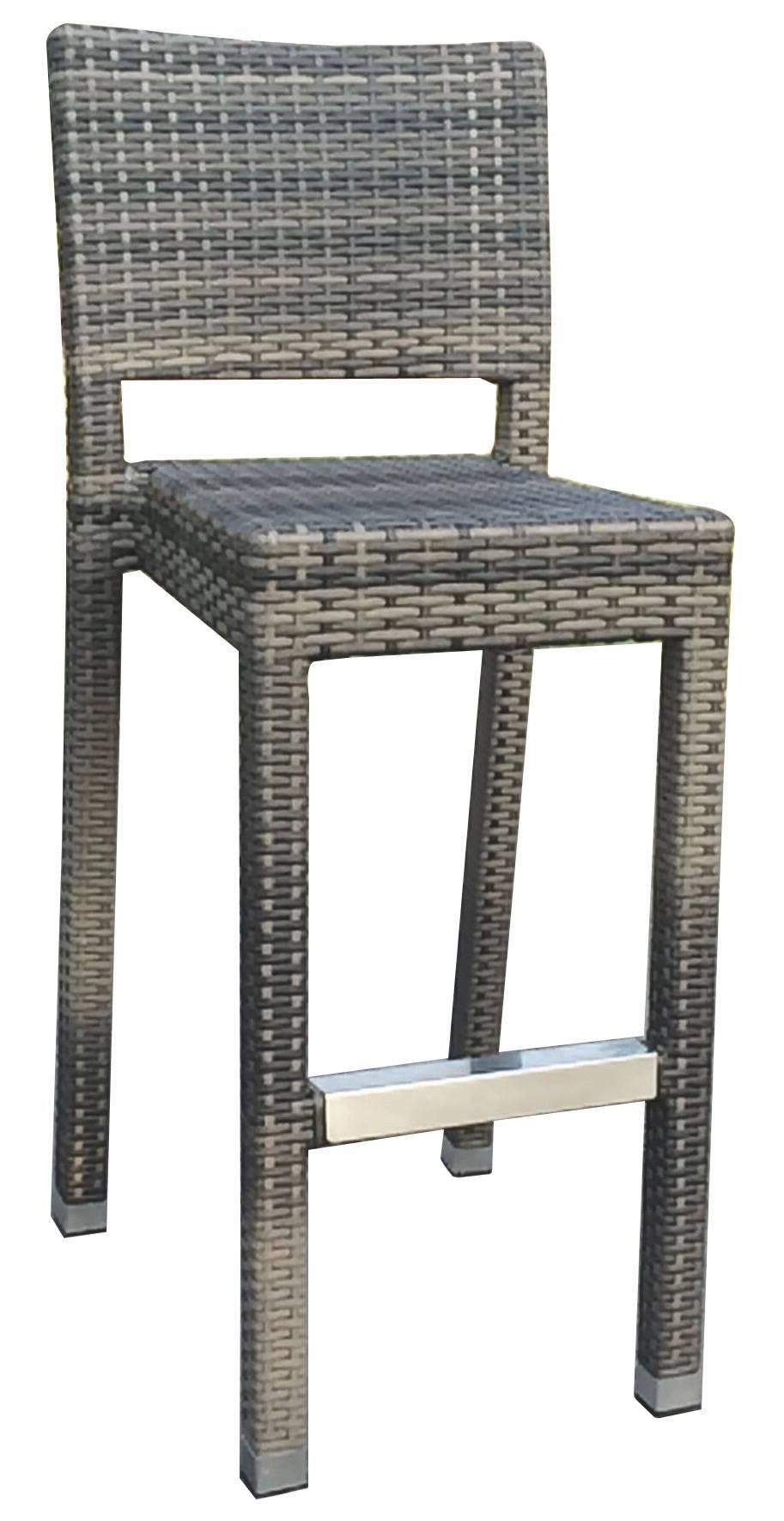 2-er Set acamp Barhocker 56965 mit Rückenlehne Maastricht
