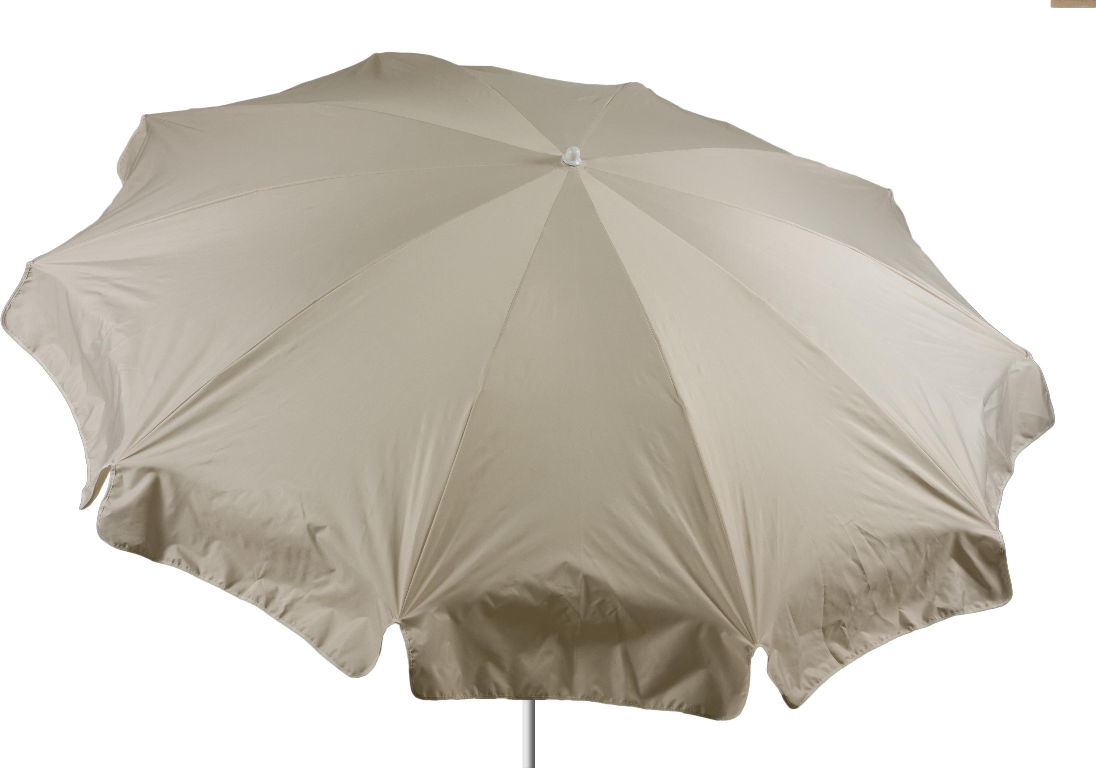 PY302 Sonnenschirm 240 cm rund beige