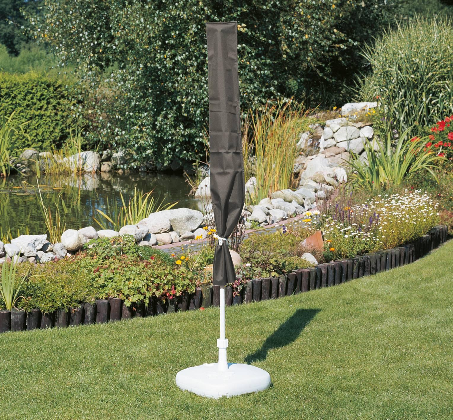 acamp Schutzhülle cappa 57710 für Sonnenschirm bis Durchmesser 200cm anthrazit