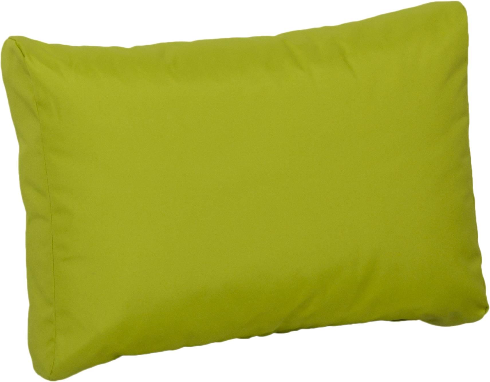 Lounge Premium Rückenkissen  ca. 60 x 40 cm hellgrün wasserabweisend aus 100% Polyester