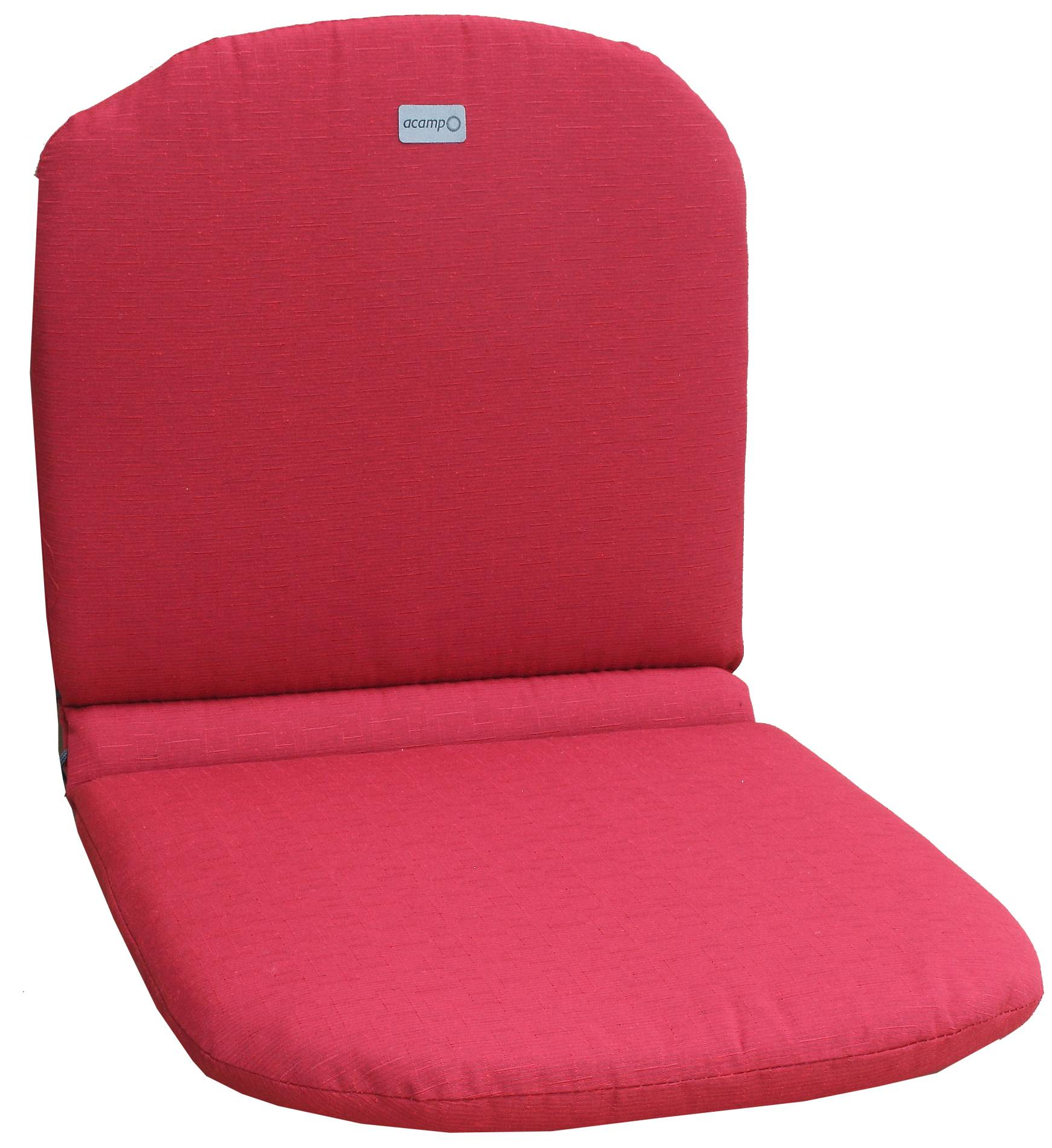 acamp Sesselkissen rot Typ-C 85 x 44 x 4 cm passend für Stapelsessel Alfredo
